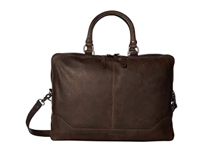 Frye Logan Work Bag (Slate Antique Pull Up) Bags