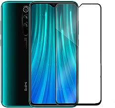 WOW Imagine | Full Edge-to-Edge for Xiaomi Redmi Note 8 Pro Full Glue 5D Full Edge-to-Edge Screen Protection Tempered Glass for Xiaomi Redmi Note 8 Pro - Black