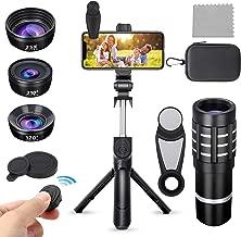 PJ-Since Phone Camera Lens kit with Bluetooth Selfie...