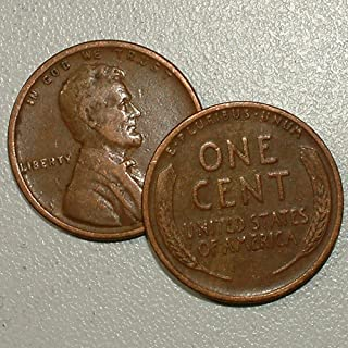 1915 wheat back penny