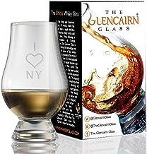 Glencairn Decorative Crystal Whiskey Tasting Glass - I Love NY
