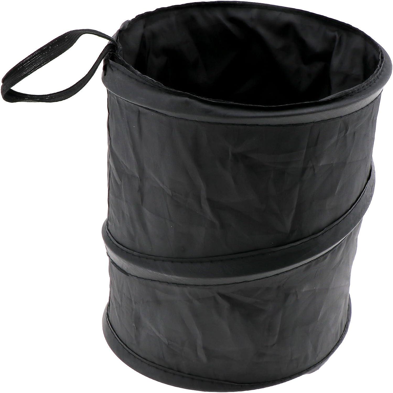 Micro Trader Max 60% OFF [Alternative dealer] Portable Car Trash Wastebasket Rubbish Can Garbage