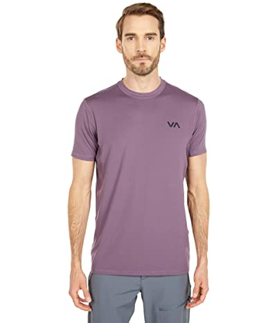RVCA VA Sport Vent Short Sleeve Top (Vintage Violet) Men