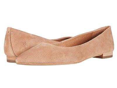 Frye Sienna Ballet (Pale Blush Suede) Women