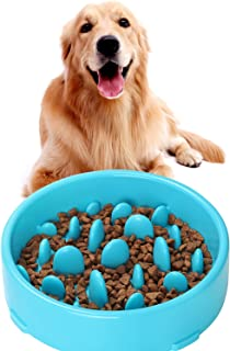JASGOOD Slow Feeder Dog Bowl New Arriving Fun Feeder Slow Feeding Interactive Bloat Stop Dog Bowls