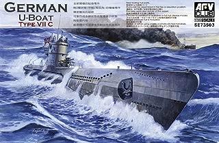 Unbekannt AFV de Club se73503 – Maqueta de Submarino Type VII C