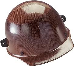 MSA 482002 Skullgard Cap Hard Hat, with 4-point Fas-Trac III Suspension, w/ Welder's Lugs, Standard, Natural Tan