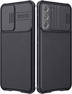 Nillkin Galaxy S21 Case - CamShield Case with Slide Camera Cover, Slim Protective Case for Samsung Galaxy S21, Black