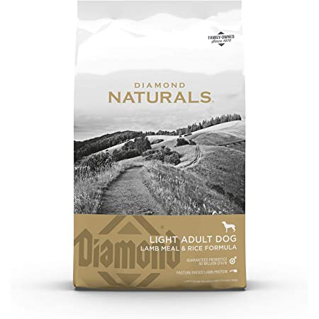 Diamond Naturals Light Dry Dog Food Lamb Meal and Rice Formula with Lean Protein from Real Lamb, Probiotics and Essential Nutrients to Help Your Dog Reach and Maintain a Healthy Body Weight