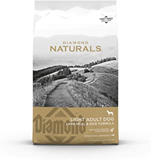 Diamond Naturals Light Dry Dog Food Lamb Meal and Rice Formula with Lean Protein from Real Lamb, Probiotics and Essential ...