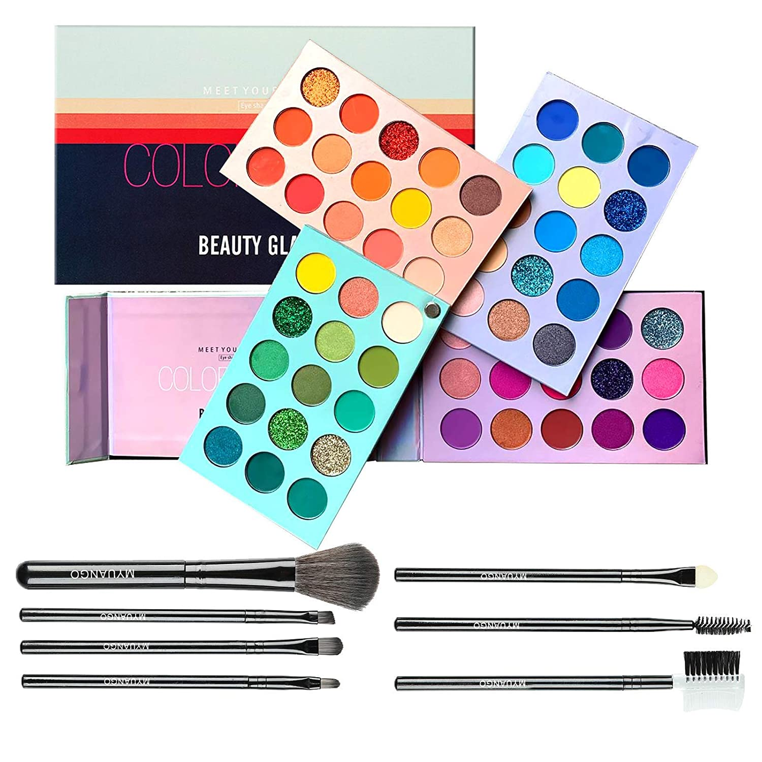 Eyeshadow Palette Free shipping on posting reviews Color Board Genuine Free Shipping Eye With Brushes Se Makeup