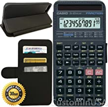 Flip Wallet Case for iPhone 8 (Scientific Calculator) with Adjustable Stand and 3 Card Holders | Shock Protection | Lightweight | Includes Free Stylus Pen by Innosub