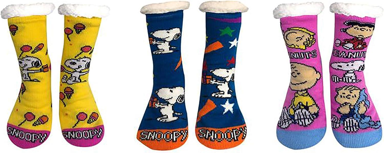 Peanuts Sherpa Socks - Collectors Pack 2