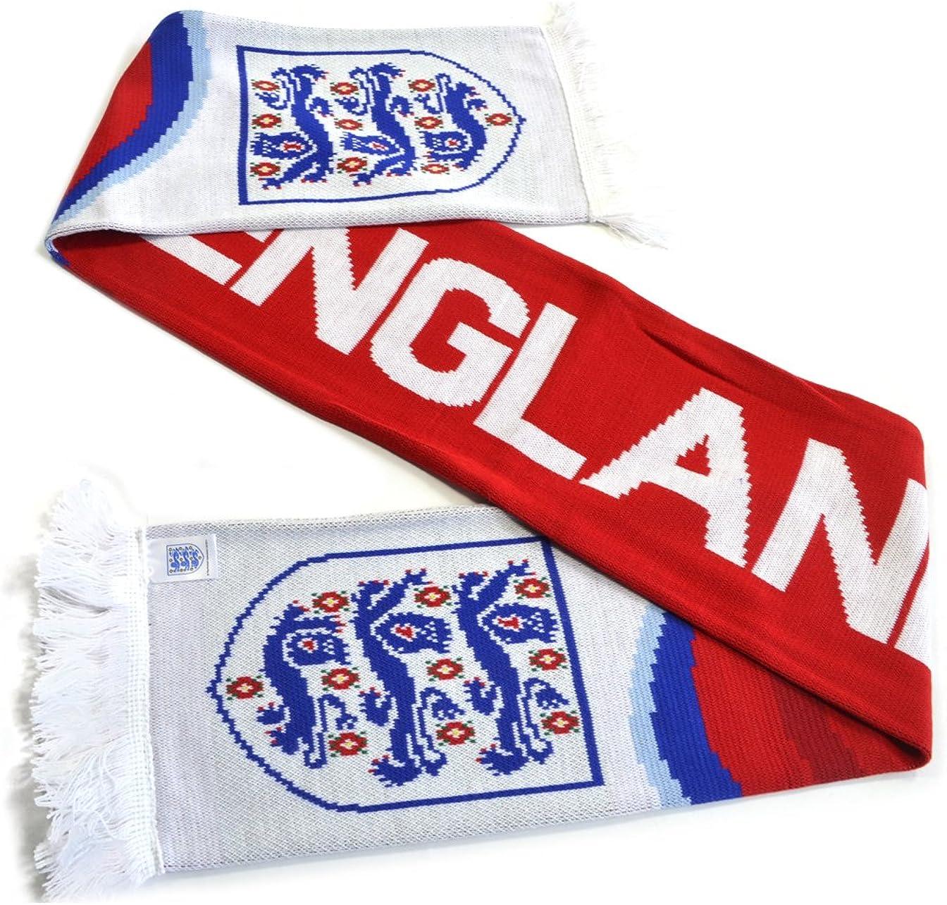 England FA Swirl Scarf Red