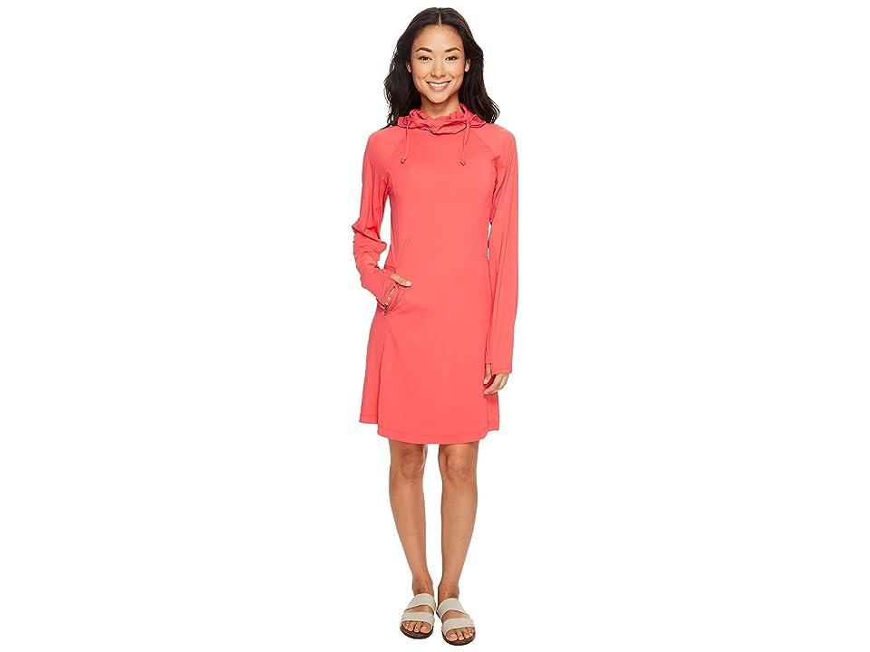 ExOfficio Sol Cool Performance Hoodie Dress (Teaberry) Women