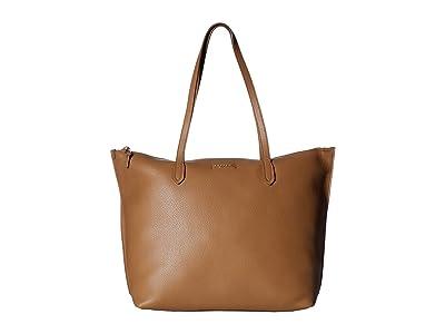Furla Luce Large Tote (Caramello) Tote Handbags