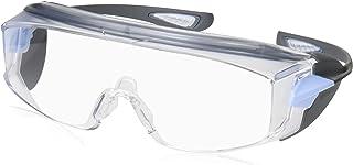 ミドリ安全 保護めがね ビジョンベルデ オーバーグラス対応 曇り止め加工 フレームカラー : ライトブルー/ライトグレー VS302F
