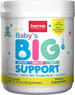 Jarrow Formulas Jarrow Formulas Baby's Big Support, Formula for Brain, Gut and Immune Support, 4.3 Oz, 4.3 Ounce