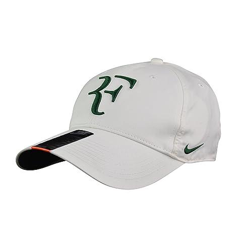 3eab96b36afe9 Nike DRI-FIT Roger Federer Legacy 91 Tennis Cap Hat 371202 113 Off-White