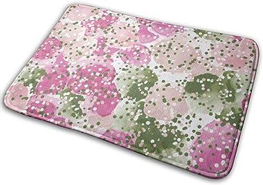 """Colorful Watercolor Shapes Indoor Doormat Front Back Door Mat,23.6""""x15.8"""" Mat Non Slip Large Door Rug"""