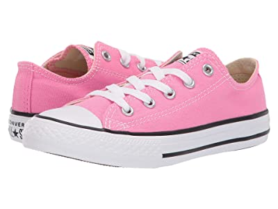 Converse Kids Chuck Taylor(r) All Star(r) Core Ox (Little Kid) (Pink) Kids Shoes