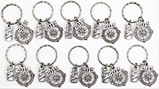 It's All About...You! 10pc Set: Find Joy in The Journey Compass 2019 Keychains 109L