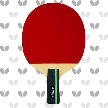 Butterfly RDJ CS1 Raquete de tênis de mesa chinesa Penhold – Boa rotação. Melhor velocidade. Controle ainda melhor. – Série RDJ – Recomendado para jogadores de nível iniciante