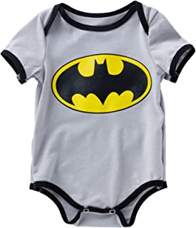 Newborn Baby Boys Girl Romper Bodysuits Cotton Short Sleeve One-Piece Jumpsuit Outfits Clothes