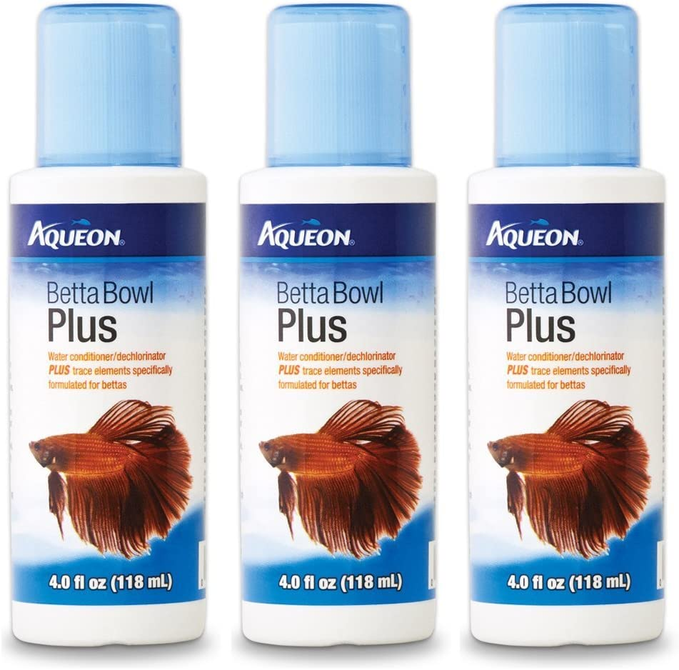 Aqueon Betta Bowl store Plus 3-Pack Dechlorinator Sales of SALE items from new works Conditioner Water