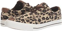 Black Tan/Brown Leopard Canvas