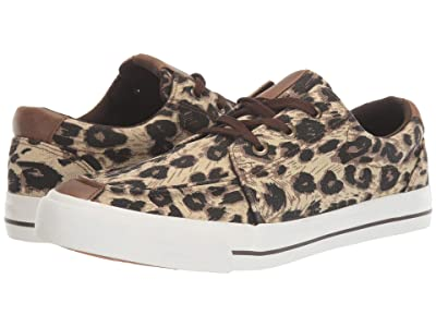 Roper Angel Fire (Black Tan/Brown Leopard Canvas) Women