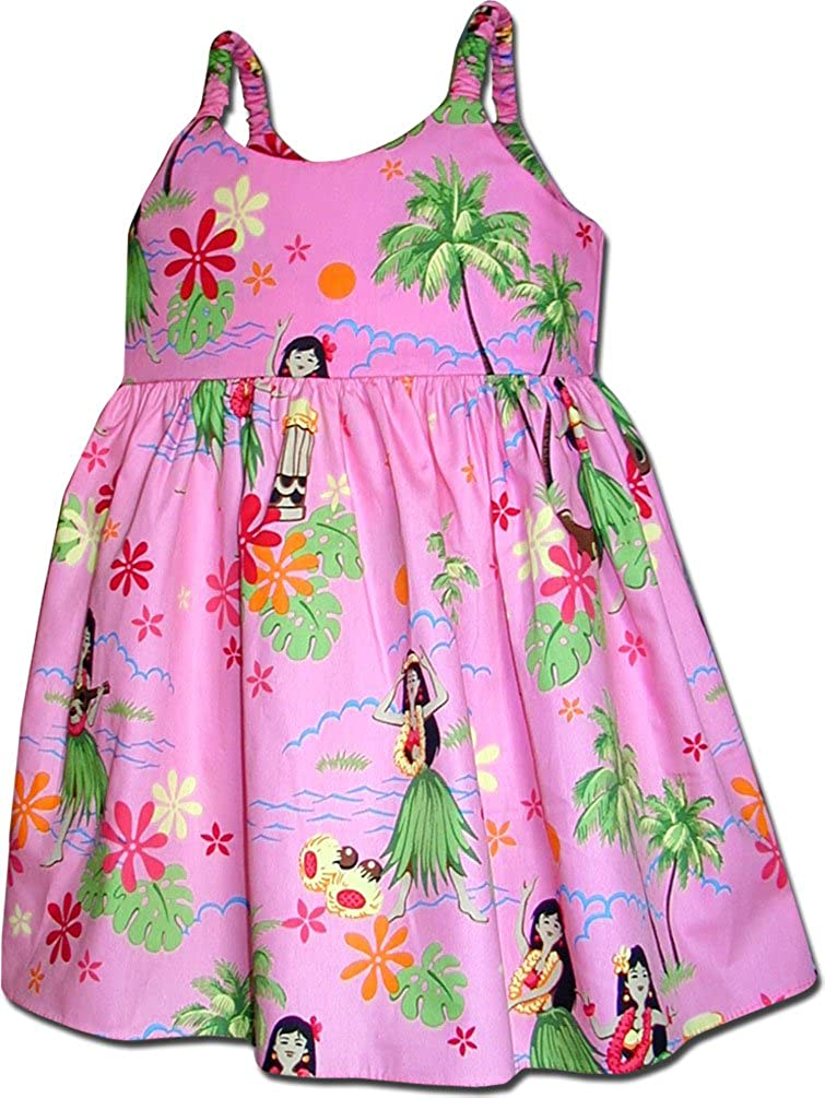 Hula Girls Toddler's Hawaiian Dresses