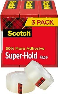 نوار Super-Hold Tape ، 3/4 در x 800 در ، 3 رول ، 1 در هسته (700S3)