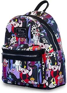 Loungefly x Disney Villains Full Colour Print Mini Backpack