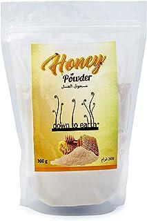 Down to Earth Honey Powder No Added Sugar   Multipurpose   Made Using Natural Process   Honey Powder Packets - 300G