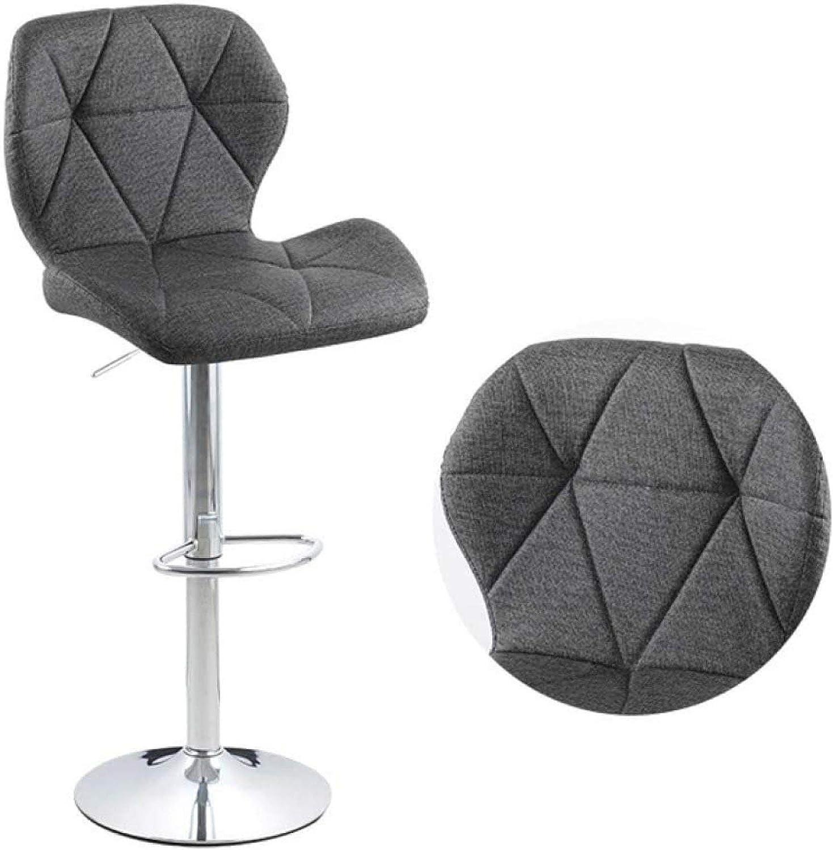 liangh Chaise De Bureau,Tabouret De Bar,Chaise De Jeux Rotative à 360 ° avec Dossier Amovible,Chaise Pivotante Mobile Portable,Pink Green