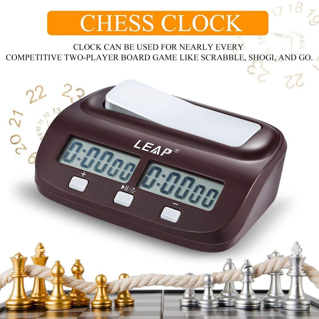 Compra ToGames-ES Reloj de ajedrez Temporizador Reloj de ajedrez ...