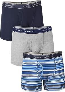 Vince Camuto Men's 3-Pack Cotton Stretch Boxer Briefs