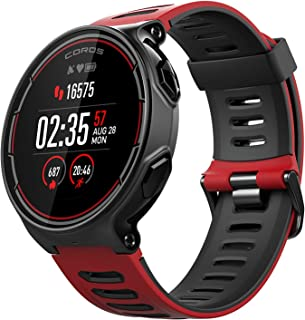 Coros PACE Multisport GPS Watch with Heart Rate Monitor, 25h Full GPS Battery, Compass, ANT+ & BLE Connections, Strava & Training Peaks