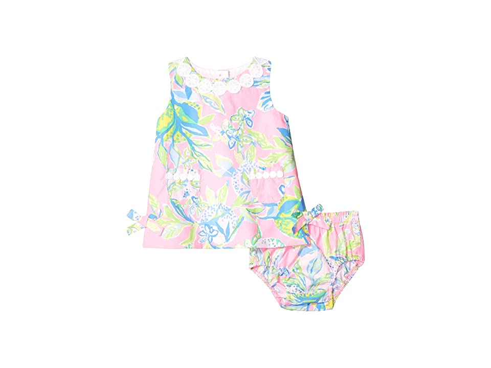 Lilly Pulitzer Kids Baby Lilly Shift Dress (Infant) (Multi Squeeze The Day) Girl