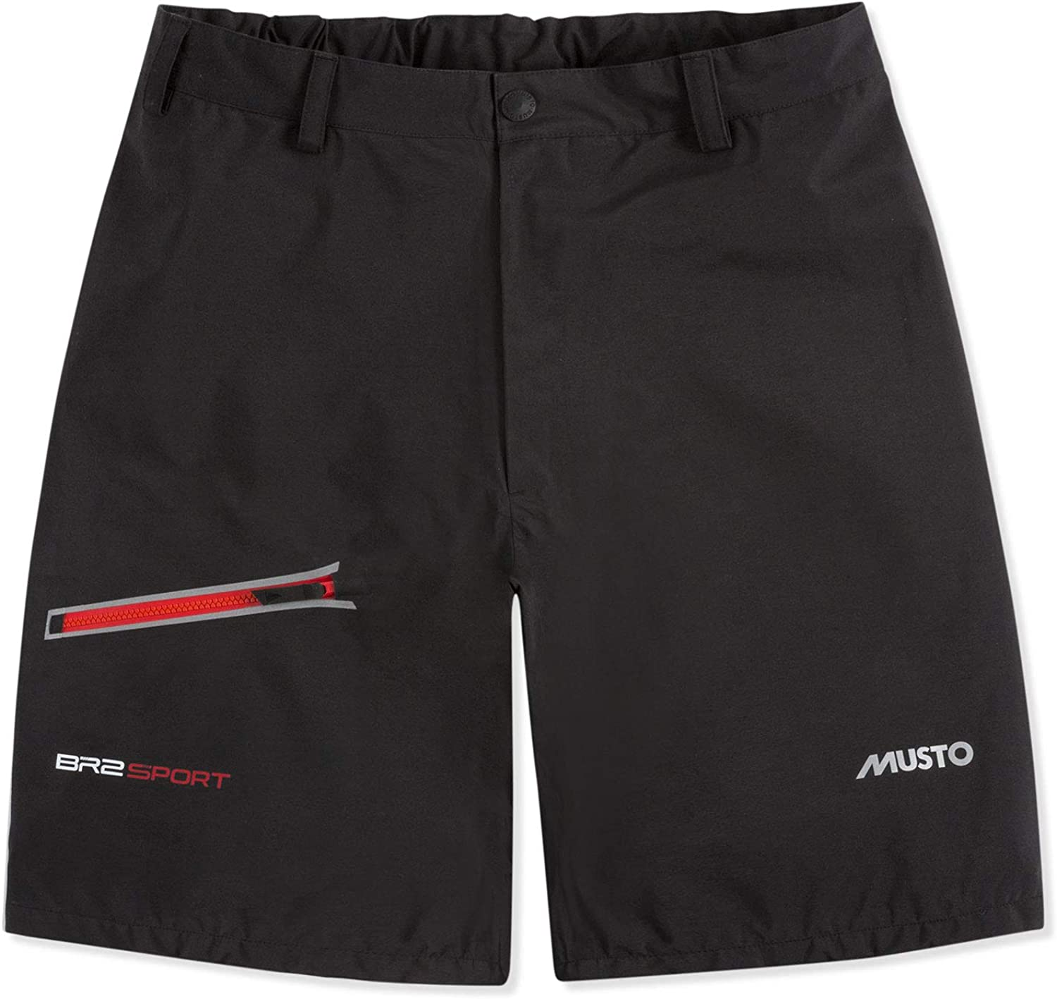 Musto BR2 Yacht Sailing and Boating Sport Sailing Boating Watersports Shorts Black SMST013Lightweight Breathable
