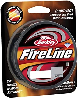 Beadsmith FireLine Braided Beading Thread 6LB Test Smoke Grey .006 In 125 Yards