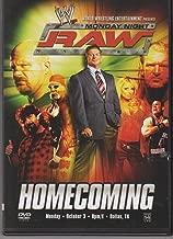 raw homecoming dvd