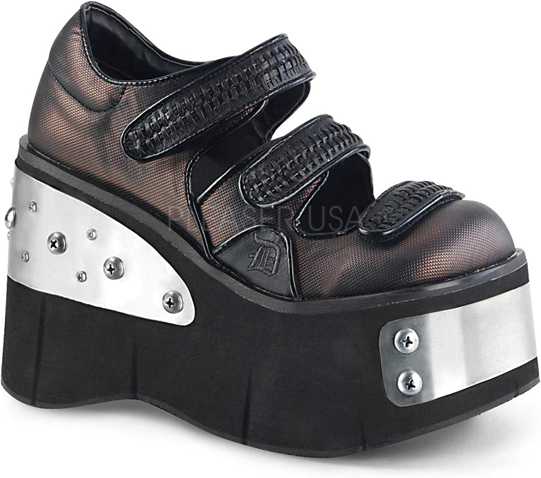 Demonia Womens KERA-13 B-PWVL Sandals