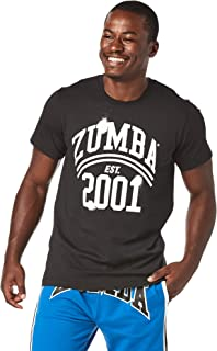 Zumba Wild About Tee Royal Blue Medium