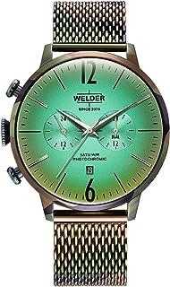 WELDER - Reloj Welder WWRC1016 Smoothy Hombre Verde Acero