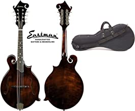 Eastman MD515 F-Style Classic Finish Mandolin with Hard Case