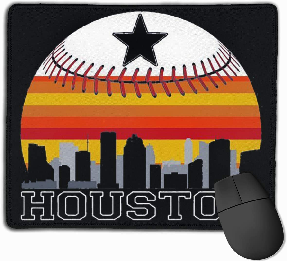 Houston Anti Slip Gaming Mouse Pad for Men and Women