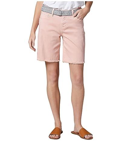 Jag Jeans Demi Belted Twill Boyfriend Shorts (Cantaloupe) Women