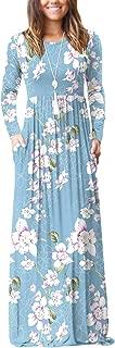 Best ladies floral maxi dresses Reviews